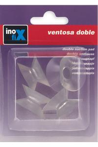 Product Βεντούζες Επίπλων Διάφανες Διπλής Όψης 31mm Σετ 4 τεμ. Inofix base image