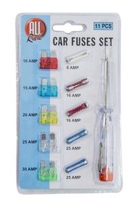 Product Ασφάλειες Αυτοκινήτου Και Κατσαβίδι Tester Σετ 11 τεμ. All Ride 11551 base image