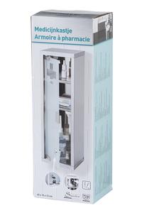 Product Φαρμακείο Μεταλλικό Με 2 Ράφια OEM 53986 base image