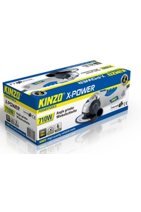 Product Γωνιακός Τροχός 710W - 115mm KINZO X-POWER 71794 base image