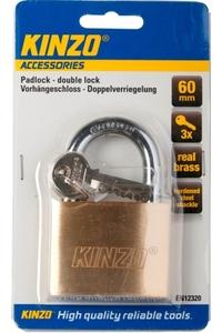 Product Λουκέτο Kinzo 60mm Με 3 Κλειδιά base image
