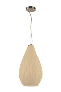 Product Φωτιστικό Οροφής Γυάλινο Κρεμ Σατινέ base image