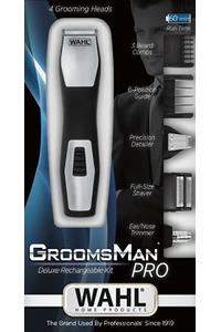 Product Τρίμερ Επαναφορτιζόμενο Wahl Groomsman Pro 9855 base image