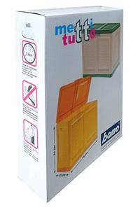 "Product Μπαούλο Πλαστικό ""METTITIUTTO"" Πράσινο 200Lt base image"