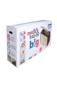 "Product Μπαούλο Πλαστικό ""METTITIUTTO BIG"" Μπεζ / Καφέ 350Lt base image"