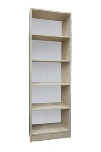 "Product Βιβλιοθήκη ""ECO"" Δρυς Με 4 Ράφια 181x50x29cm base image"