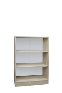 "Product Βιβλιοθήκη ""ECO"" Δρυς Με 2 Ράφια 113x78x29cm base image"
