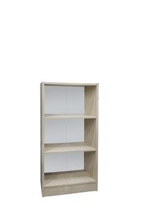 "Product Βιβλιοθήκη ""ECO"" Δρυς Με 2 Ράφια 113x50x29cm base image"