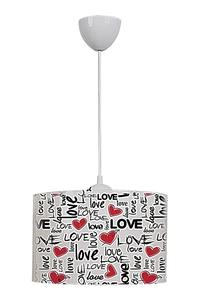 Product Φωτιστικό Οροφής Πλαστικό Love base image