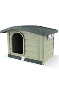 """Product Σπίτι Σκύλου Πράσινο Bama """"Bungalow"""" Large 19105 base image"""