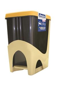 "Product Κάδος Με Πεντάλ 21Lt Κίτρινος Bama ""Pelly"" 40102 base image"