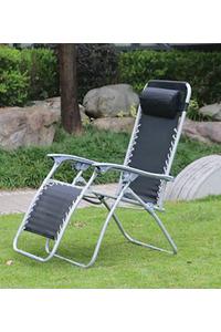 Product Πολυθρόνα Μεταλλική Textilene Μαύρη Redwood Leisure FC114 base image