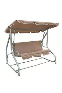 Product Κούνια - Κρεβάτι Τριθέσια Μπεζ / Γκρι Redwood Leisure HM507 base image