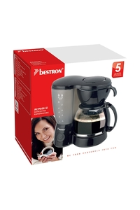 Product Καφετιέρα Φίλτρου Μαύρη 1400W Bestron ACM6081Z base image