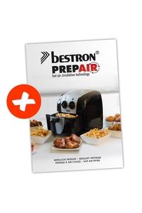 Product Φριτέζα Θερμού Αέρα 1200-1400W BESTRON ASF1304Z base image