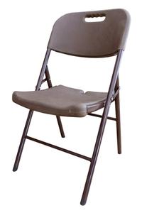 Product Καρέκλα Πτυσσόμενη Πλαστική Καφέ S1714196 base image