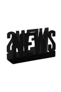 Product Εφημεριδοθήκη News Μαύρη base image