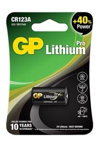 Product Μπαταρία Λιθίου GP 3V CR123A base image