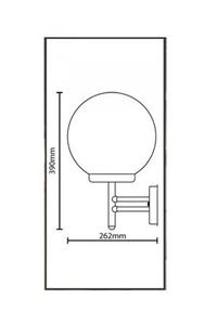 Product Φωτιστικό Τοίχου Ανοξείδωτο 7290510 base image