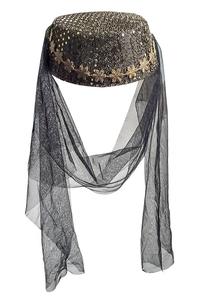 Product Αποκριάτικο Καπέλο Χανούμισσας Σε 3 Χρώμ. base image