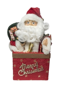 Product Διακοσμητικό Χριστουγεννιάτικο Με Κίνηση Άγ. Βασίλης base image