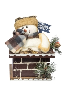Product Χριστουγεννιάτικη Φιγούρα Σε Καμινάδα Σε 3 Σχέδια 33005 base image