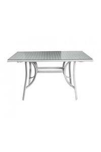 "Product Τραπέζι ""Capital"" 130x80cm Λευκό base image"