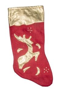 Product Μπότα Χριστουγεννιάτικη Κόκκινο Χρυσό 44cm base image