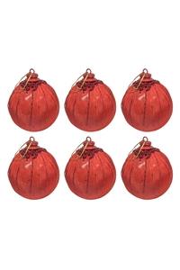Product Μπάλες Χριστουγεννιάτικες Κόκκινες 9cm Σετ 6 τεμ. base image