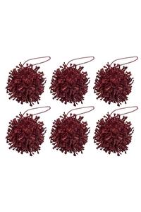 Product Στολίδια Σόλαρ Κόκκινο 6cm Σετ 6 τεμ. base image