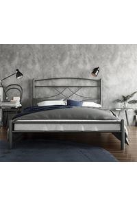 "Product Κρεβάτι Ημίδιπλο 110x190cm Μεταλλικό Σφυρήλατο ""Emma"" base image"