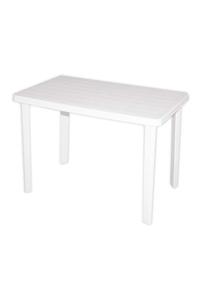 "Product Τραπέζι ""Πάτμος"" 70x110x75cm Λευκό base image"