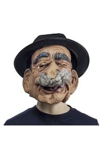 Product Αποκριάτικη Μάσκα Γέρου Μπεκρή Με Καπέλο base image