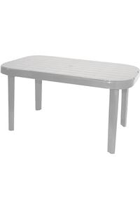 "Product Τραπέζι ""Μύκονος"" 85x140cm Λευκό base image"