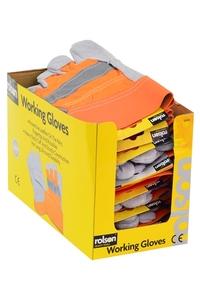 Product Γάντια Εργασίας Με Αντανακλαστική Ταινία Rolson 60645 base image
