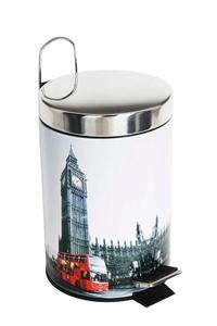 Product Κάδος Με Πεντάλ 5Lt Σχέδιο London base image