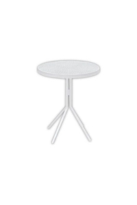 "Product Τραπέζι Αλουμινίου ""Fontana"" Λευκό base image"