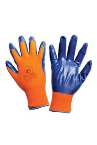 Product Γάντια Πλεκτά Νιτριλίου Πορτοκαλί/Μπλε Overtech base image