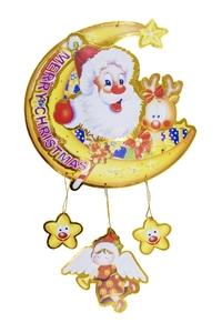 Product Διακοσμητικό Άγιος Βασίλης / Φεγγάρι Χάρτινο base image