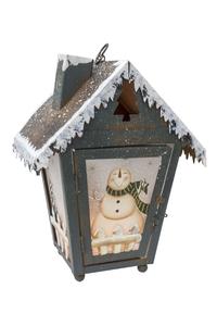Product Φαναράκι Διακοσμητικό Χριστουγεννιάτικο Χιονάνθρωπος base image