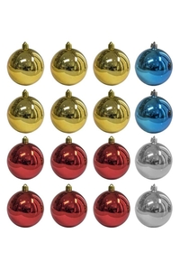 Product Μπάλες Χριστουγεννιάτικες 6.5cm Σετ 18 τεμ. base image