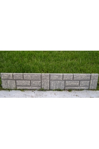 Product Φραχτάκι Κήπου 2,4m Πέτρα Γκρί base image