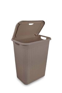 Product Καλάθι Απλύτων Πλαστικό Rattan 30Lt base image