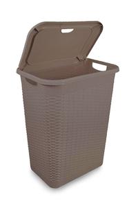 Product Καλάθι Απλύτων Πλαστικό Rattan 50Lt base image