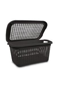 Product Καλάθι Απλύτων Πλαστικό Rattan 40Lt base image