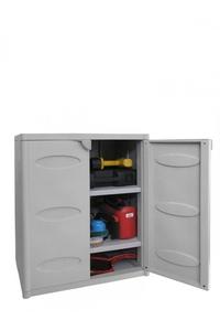 Product Ντουλάπα Πλαστική Δίφυλλη Με 2 Ράφια 5500.00 System A base image