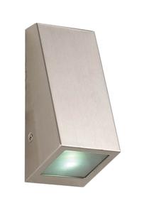 Product Φωτιστικό Τοίχου Εξ. Χώρου Inox Hilight 103137 base image
