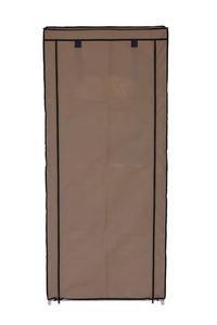 Product Παπουτσοθήκη Υφασμάτινη Με 8 Ράφια Καφέ 304630 base image