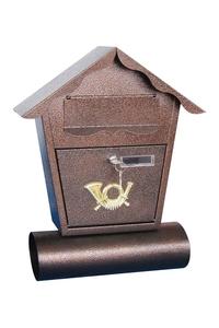Product Γραμματοκιβώτιο Καφέ Σφυρίλατο 37x47.5x10.5cm Garden Pleasure 509126 base image
