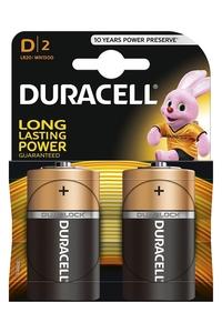Product Μπαταρίες Αλκαλικές Duracell D Σετ 2 τεμ. base image